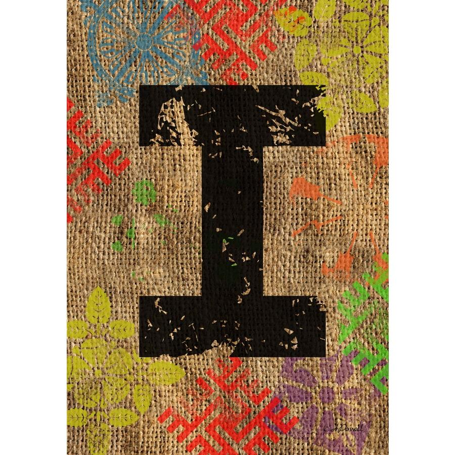 1.5-ft x 1.04-ft I Monogram Flag