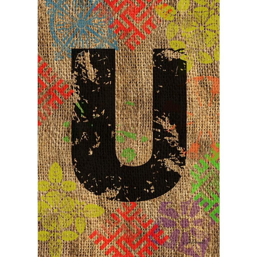 1.5-ft x 1.04-ft U Monogram Flag