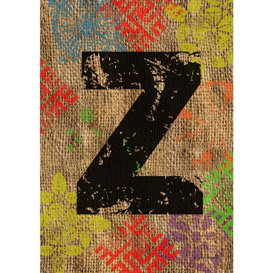 3.33-ft x 2.33-ft Z Monogram Flag