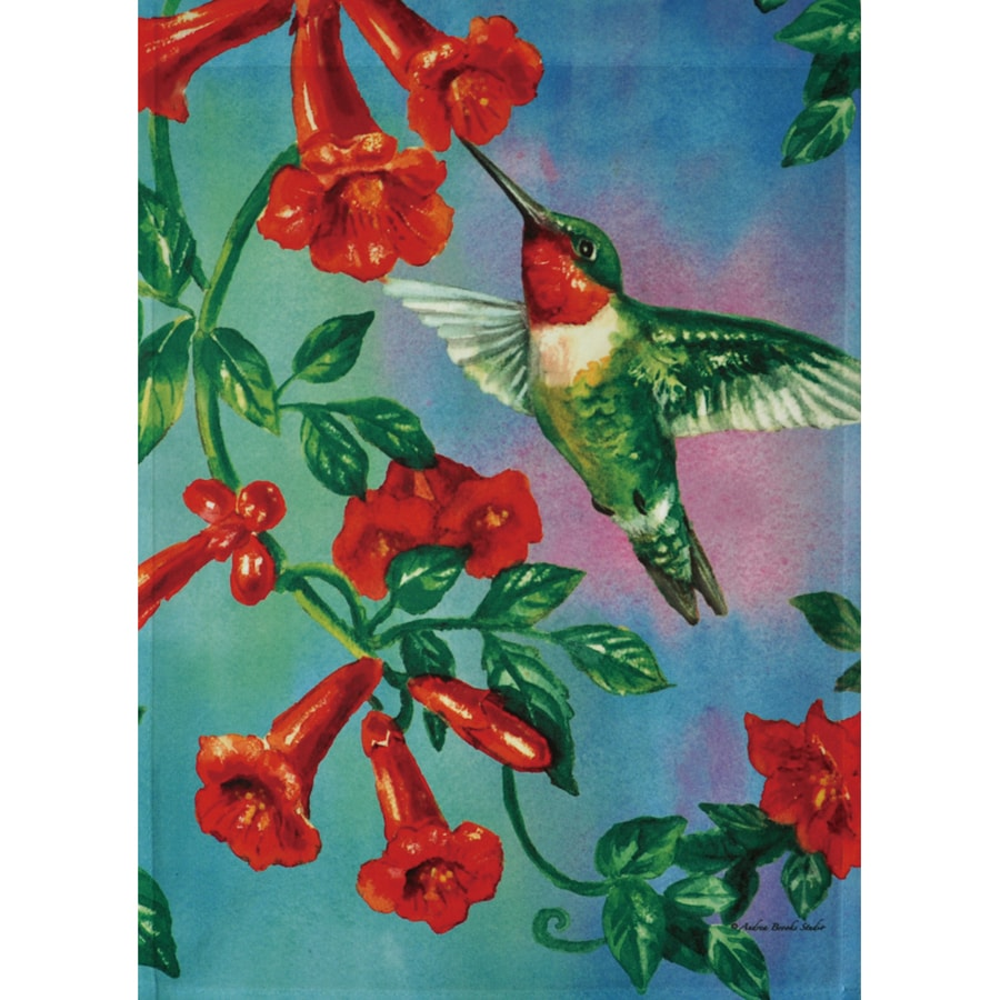 Rain or Shine 3.33-ft x 2.33-ft Birds House Flag