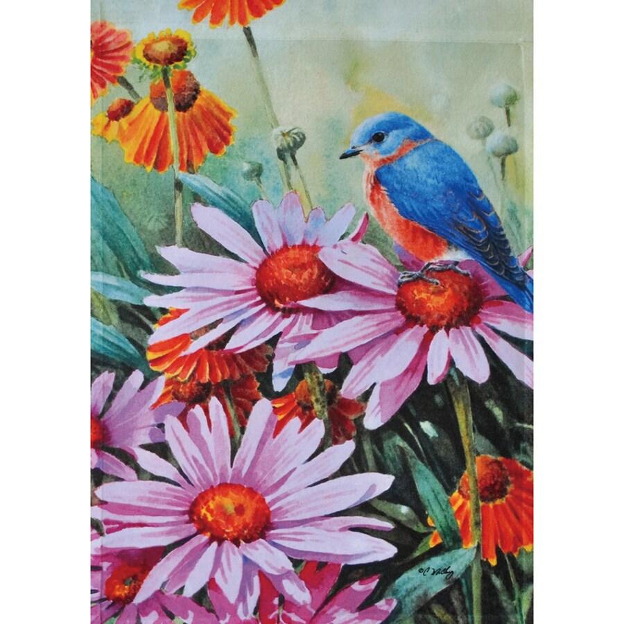 Rain or Shine 1.5-ft x 1.04-ft Birds Garden Flag