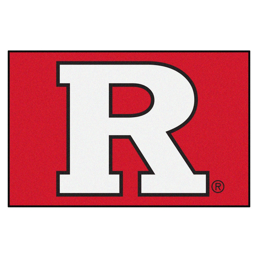 FANMATS Rutgers University Multicolor Rectangular Indoor Machine-Made Sports Throw Rug (Common: 1-1/2 x 2-1/2; Actual: 19-in W x 30-in L x 0-ft Dia)