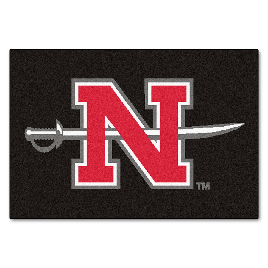 FANMATS Nicholls State University Multicolor Rectangular Indoor Machine-Made Sports Throw Rug (Common: 1-1/2 x 2-1/2; Actual: 19-in W x 30-in L x 0-ft Dia)