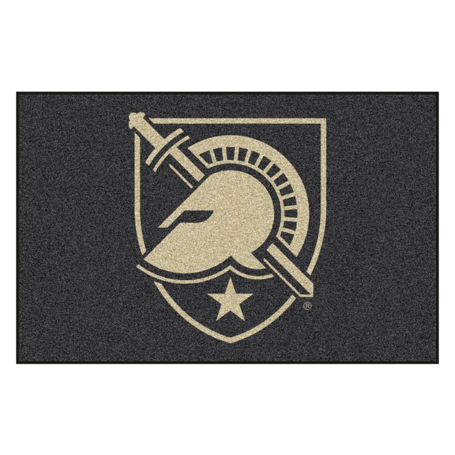 FANMATS U.S. Military Academy Multicolor Rectangular Indoor Machine-Made Sports Throw Rug (Common: 1-1/2 x 2-1/2; Actual: 19-in W x 30-in L x 0-ft Dia)