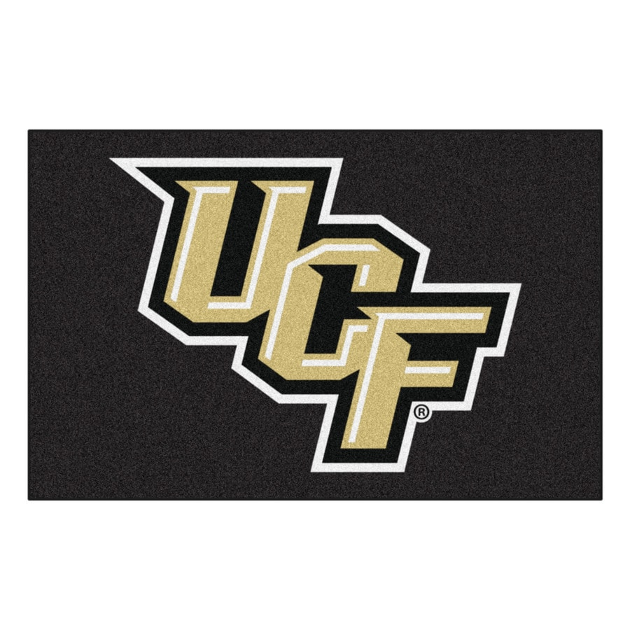 FANMATS University Of Central Florida Multicolor Rectangular Indoor Machine-Made Sports Throw Rug (Common: 1-1/2 x 2-1/2; Actual: 19-in W x 30-in L x 0-ft Dia)