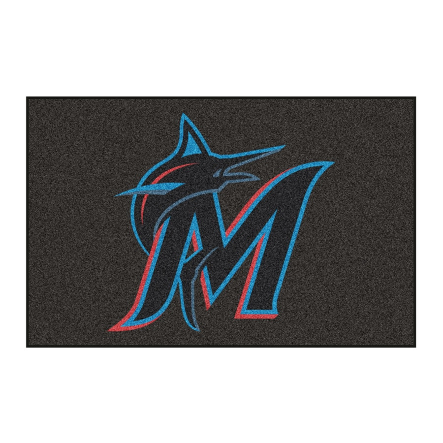FANMATS Multicolor Rectangular Indoor Machine-Made Sports Throw Rug (Common: 1-1/2 x 2-1/2; Actual: 19-in W x 30-in L)