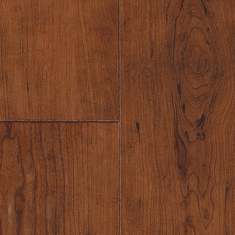 SwiftLock Plus Laminate 5-7/8-in W x 51-3/8-in L Rustic Cherry- Leather Laminate Flooring