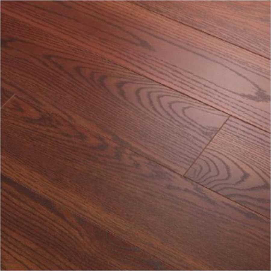 Style Selections 6.1-in W x 3.97-ft L Eastport Oak Embossed Laminate Wood Planks