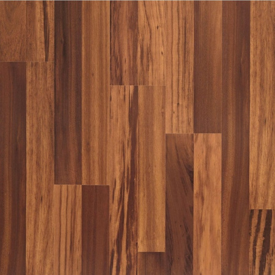 allen + roth Smooth Tigerwood Wood Planks Sample (Natural Tigerwood)