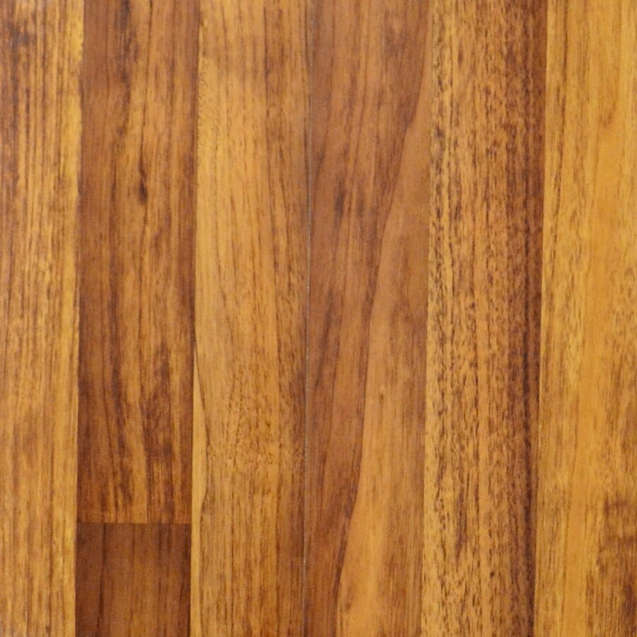 allen + roth Embossed Butternut Wood Planks Sample (Toasted)