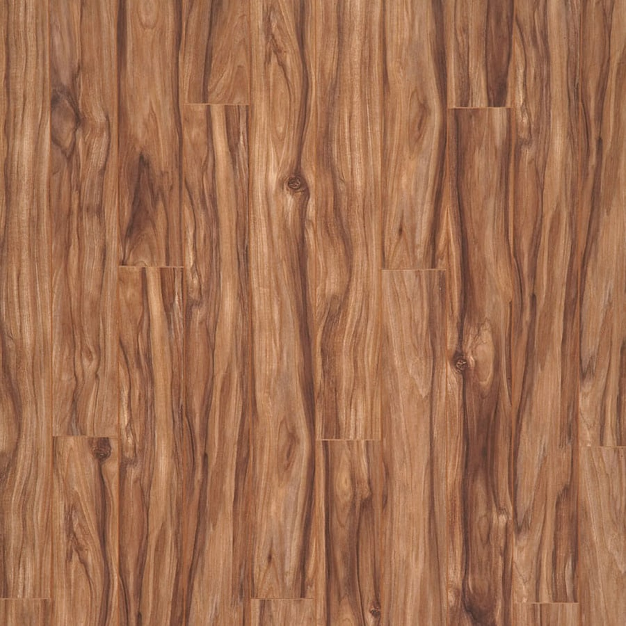 allen + roth 4.76-in W x 3.95-ft L Spice Mill Smooth Laminate Floor Wood Planks
