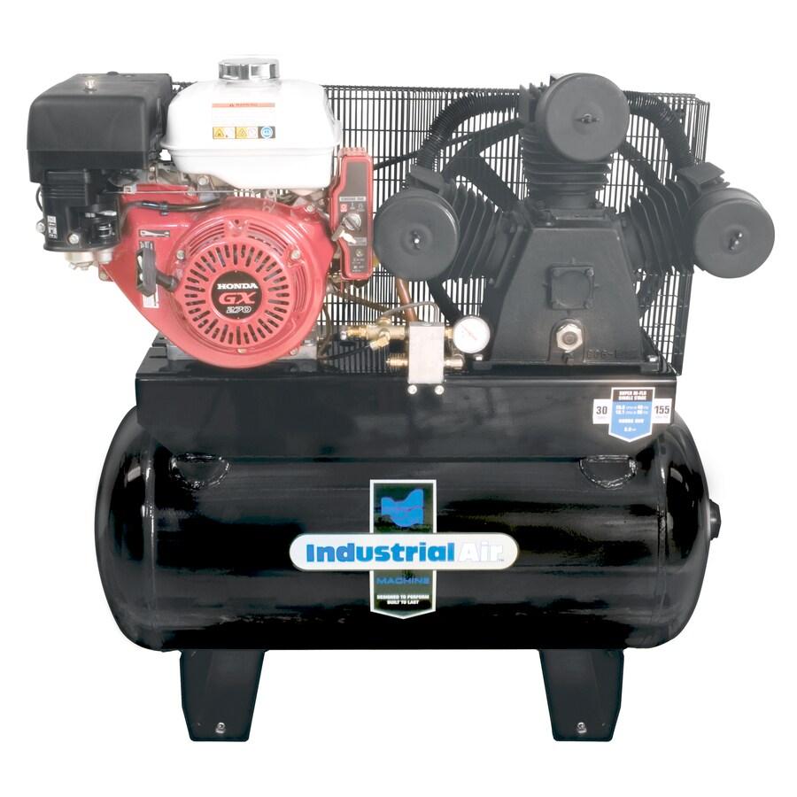 Industrial Air 9-HP 30-Gallon 155-PSI Gas Air Compressor