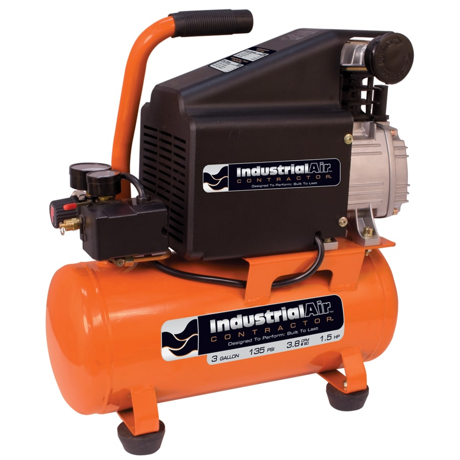 Industrial Air 1.5-HP 3-Gallon 135-PSI Electric Air Compressor