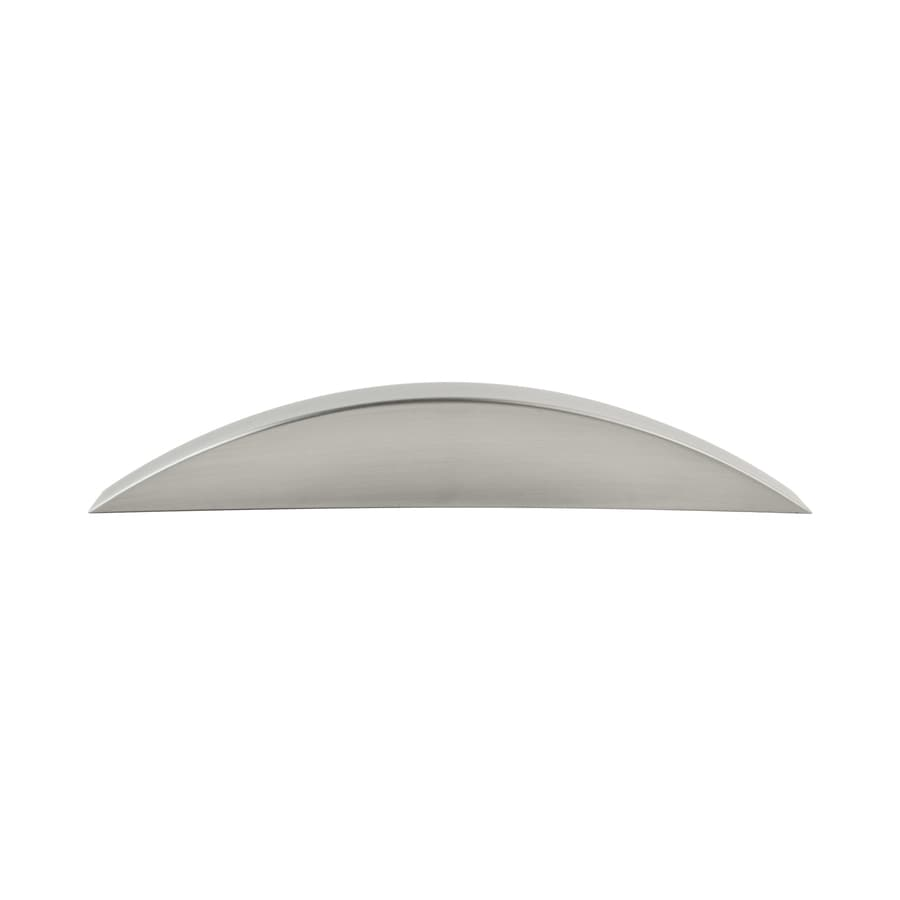 Continental Home Hardware 3-1/2-in Center-to-Center Satin Nickel Graham Arched Cabinet Pull