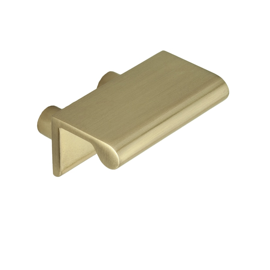 Continental Home Hardware 3/4-in Center-to-Center Satin Brass Stella Rectangular Cabinet Pull