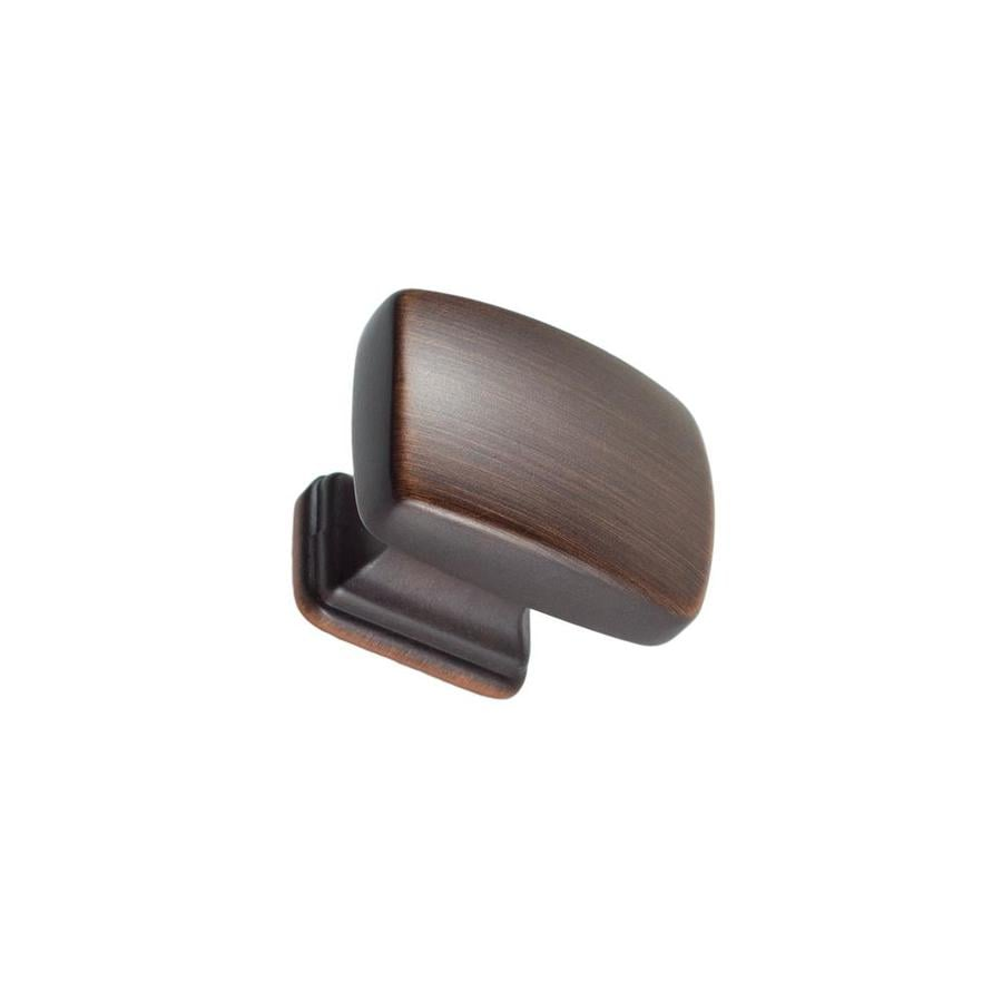 Kitchen Cabinet Handles At Lowes: Shop Sumner Street Symmetry Oil-Rubbed Bronze Rectangular