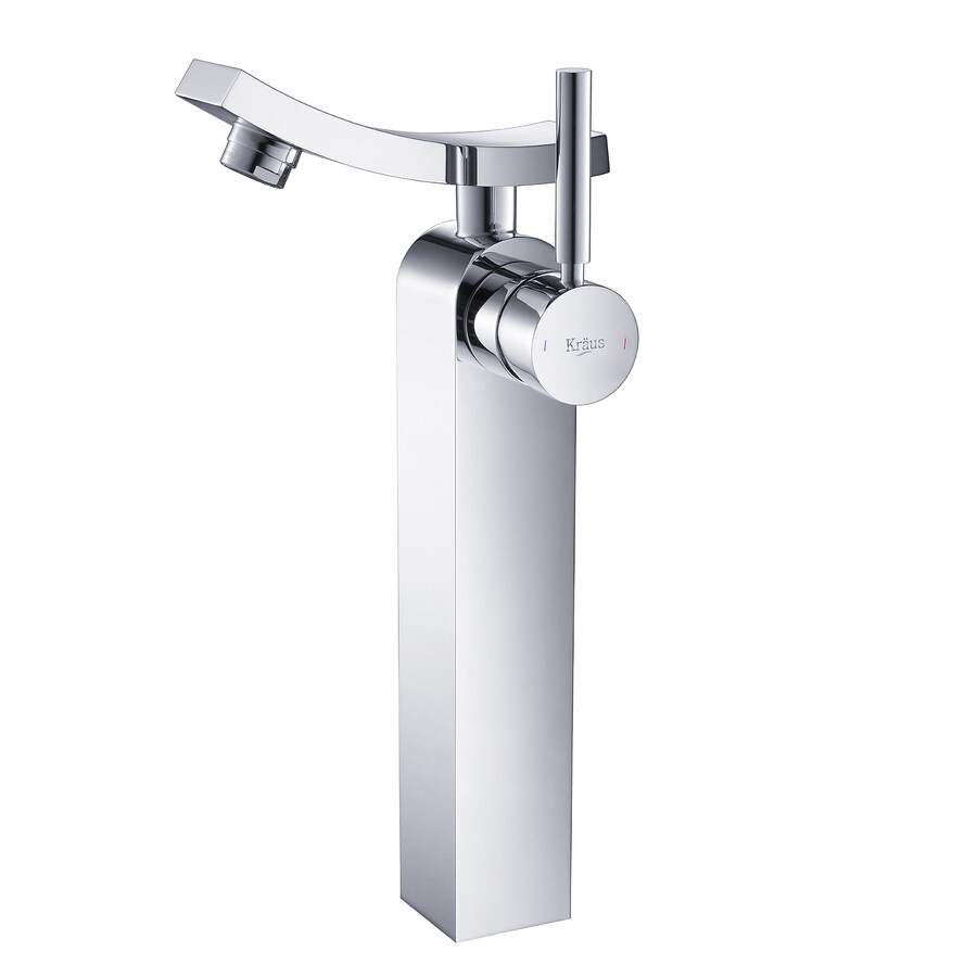 Kraus Unicus Chrome 1-Handle Vessel WaterSense Bathroom Faucet