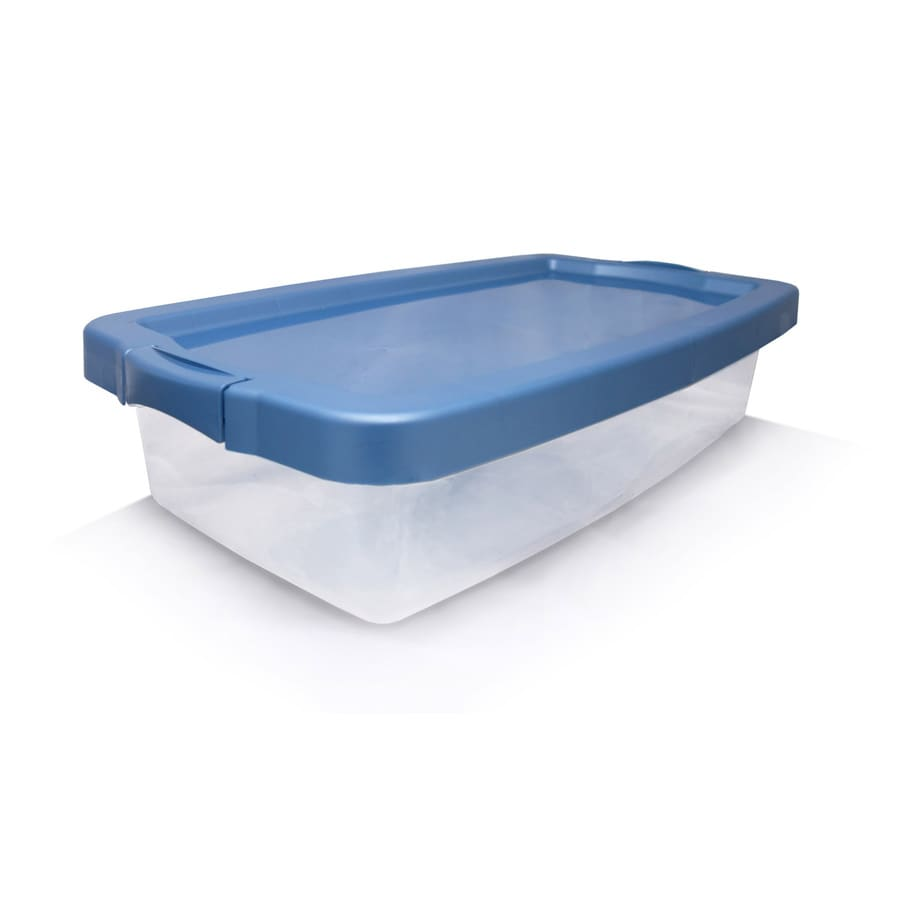 Centrex Plastics, LLC Rugged 31 Quart(S)Clear Tote with Latching Lid
