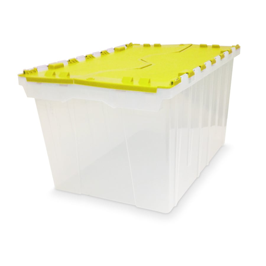 Style Selections 12-Gallon Green Tote with Hinged Lid