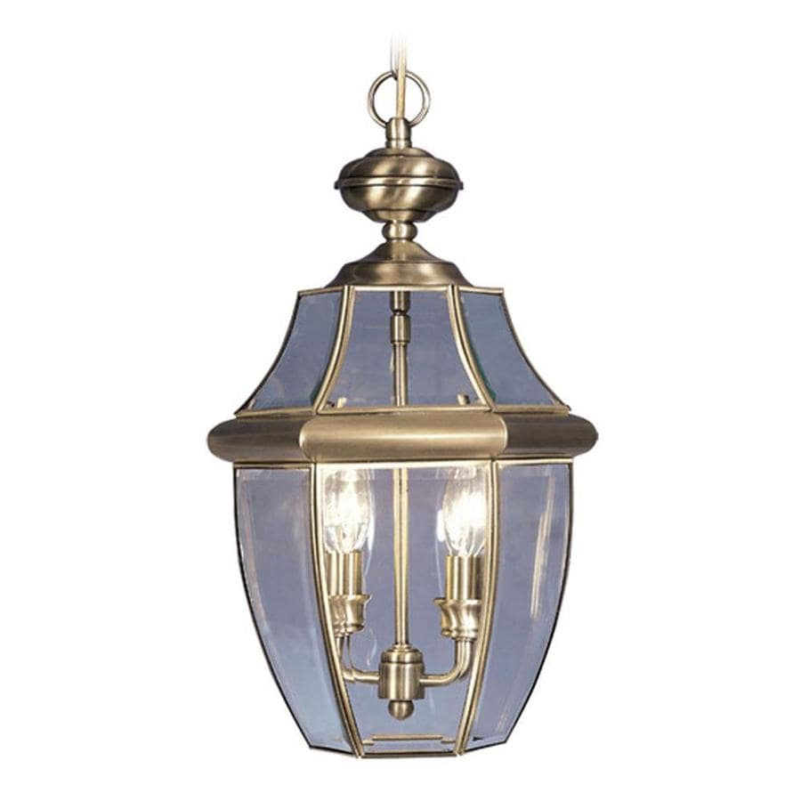Brass Motion Sensor Outdoor Lighting. Country Cottage