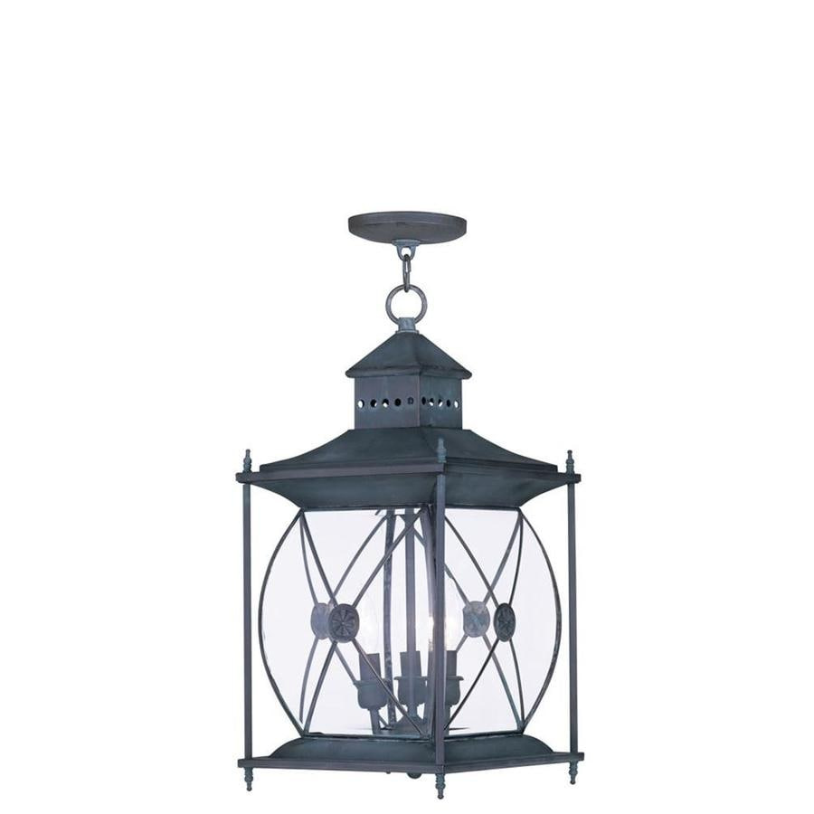 Aberdeen 20.25-in Charcoal Outdoor Pendant Light