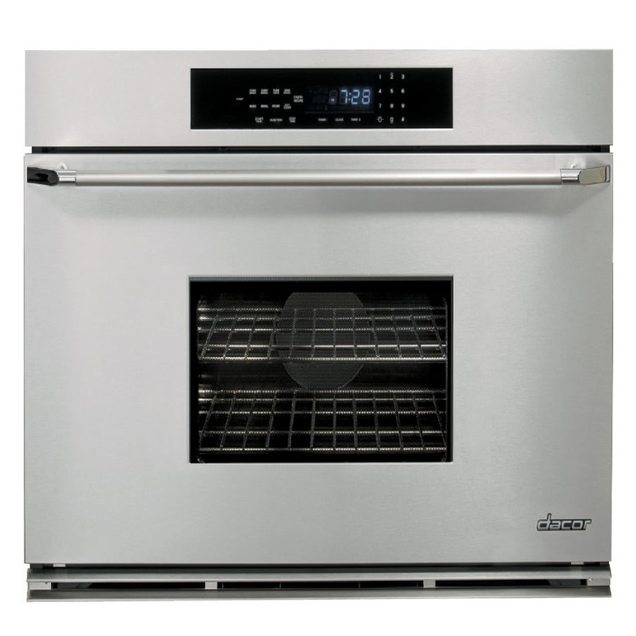 Dacor Self-Cleaning Convection Single Electric Wall Oven (Stainless Steel with Chrome Trim) (Common: 36-in; Actual 35.875-in)