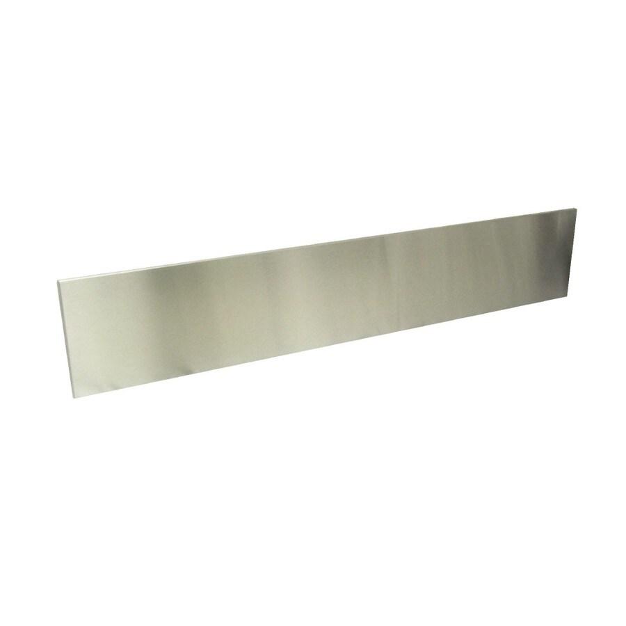 Dacor 9-in x 36-in Stainless Steel Kitchen Backsplash