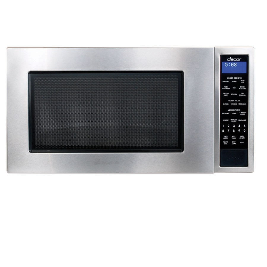 Dacor 2-cu ft 1,100-Watt Countertop Microwave (Stainless Steel)