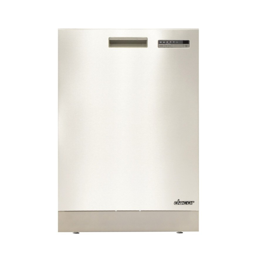 Dacor 49-Decibel Built-In Dishwasher (Stainless Steel) (Common: 24-in; Actual 24-in) ENERGY STAR