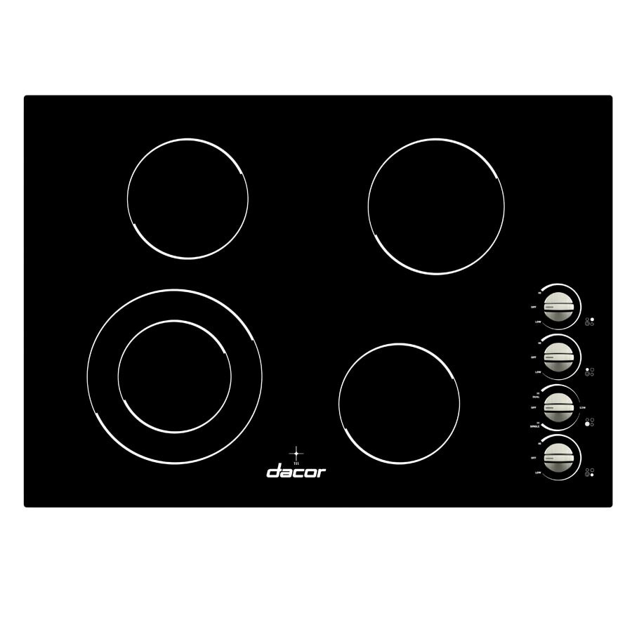 Dacor Distinctive Smooth Surface Electric Cooktop (Black) (Common: 30-in; Actual 30-in)