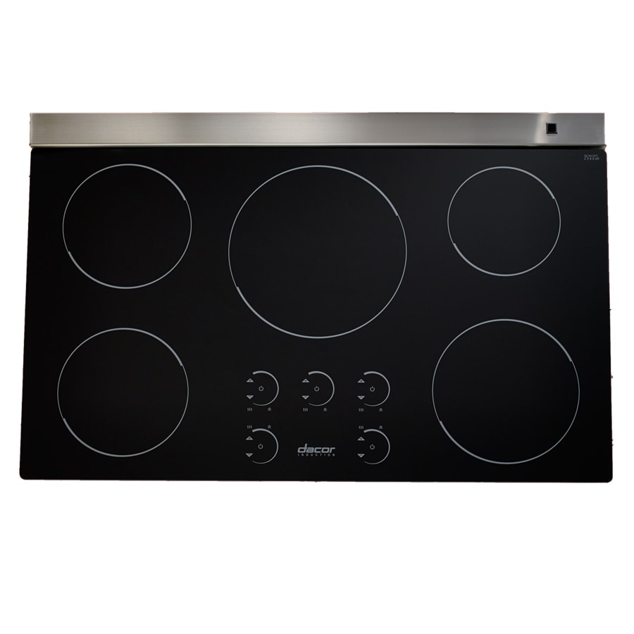 Shop dacor renaissance 5 element smooth surface induction for Dacor cooktop