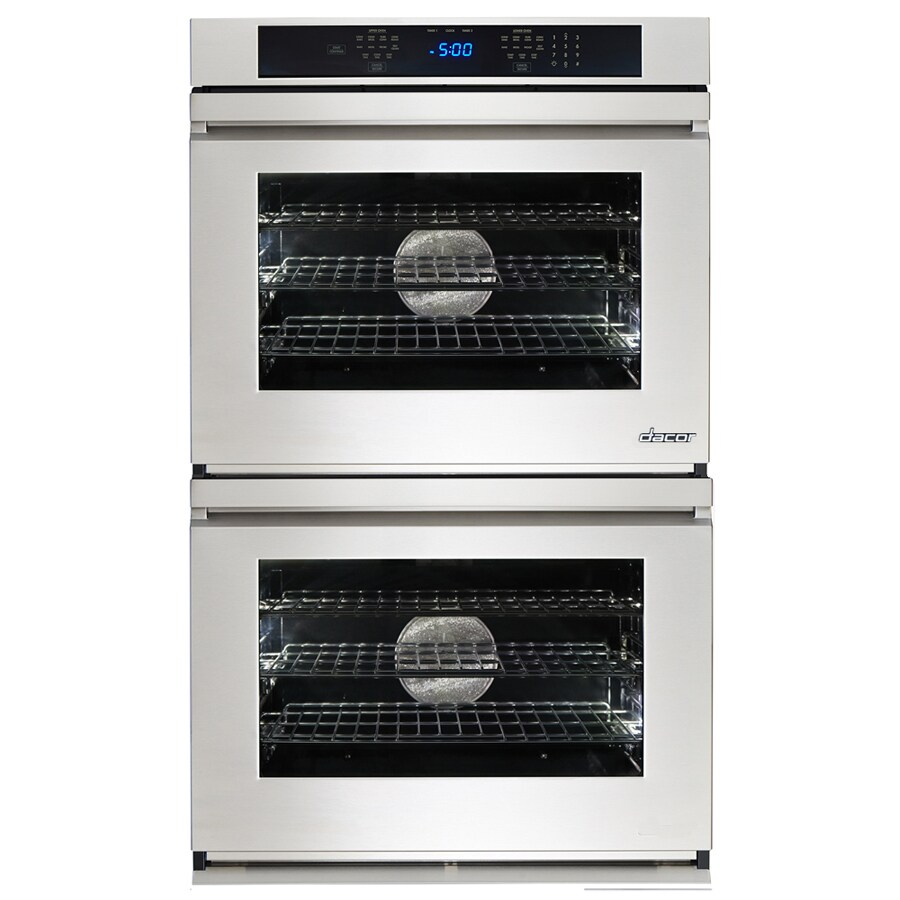 Dacor Renaissance Self-Cleaning Convection Single-Fan Double Electric Wall Oven (Stainless Steel) (Common: 27-in; Actual: 27-in)