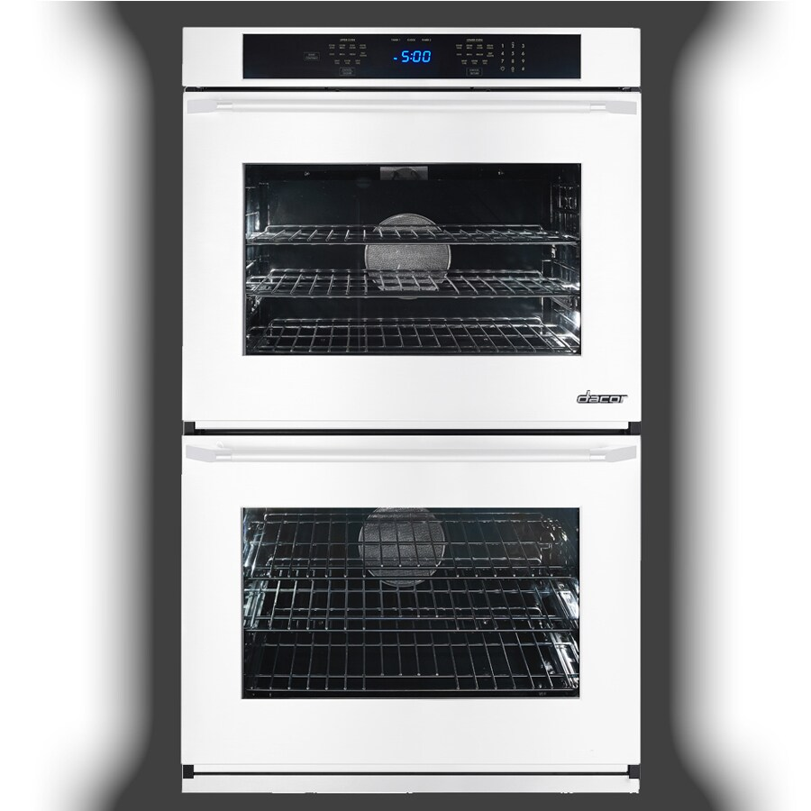 Dacor Renaissance Self-Cleaning Convection Single-Fan Double Electric Wall Oven (White Glass) (Common: 30-in; Actual: 30-in)