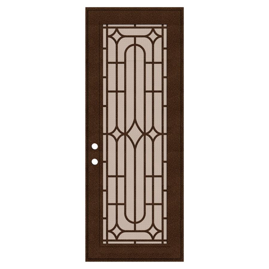 Shop titan winchester powder coat copperclad aluminum for Door security