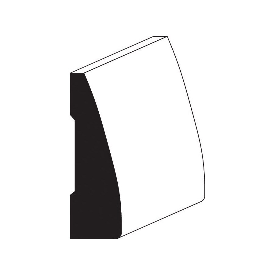 2.25-in x 10-ft Interior Oak Unfinished Window and Door Casing