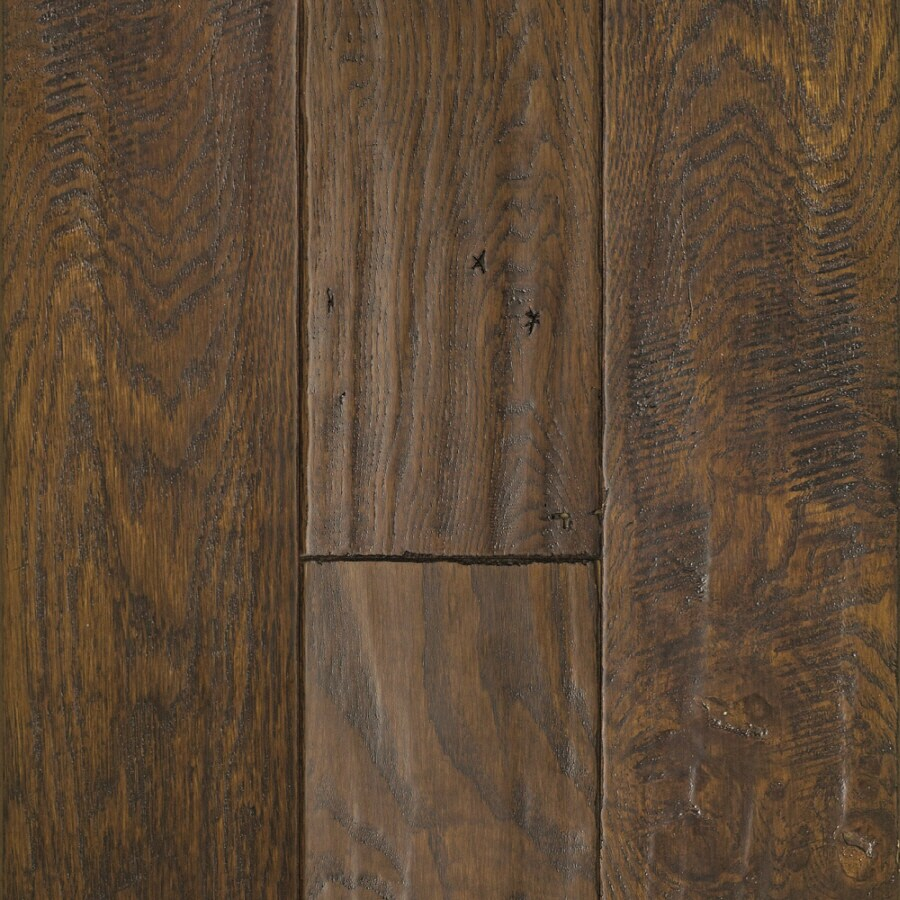 Shop mullican flooring chatelaine 4 in w prefinished oak for Prefinished flooring