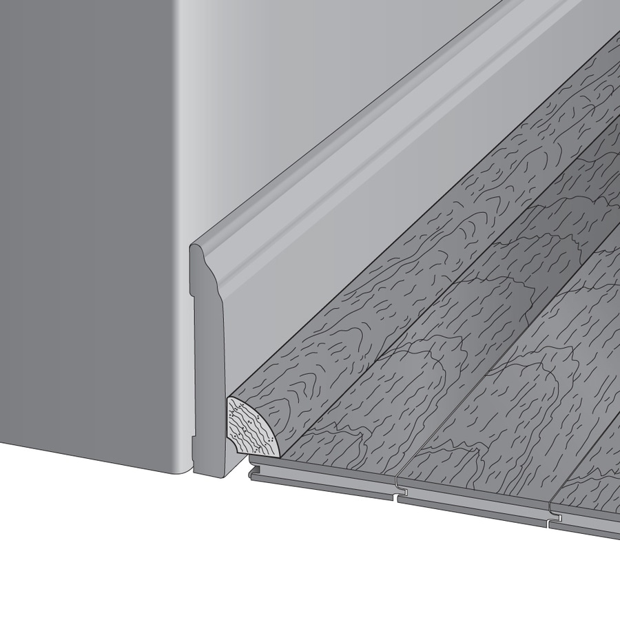 Mullican Flooring 0.75-in x 78-in Caramel Maple Quarter Round Floor Moulding
