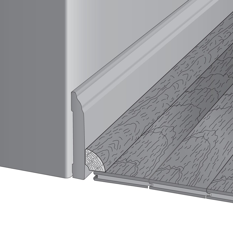 Mullican Flooring 0.75-in x 78-in Bordeaux Maple Quarter Round Floor Moulding