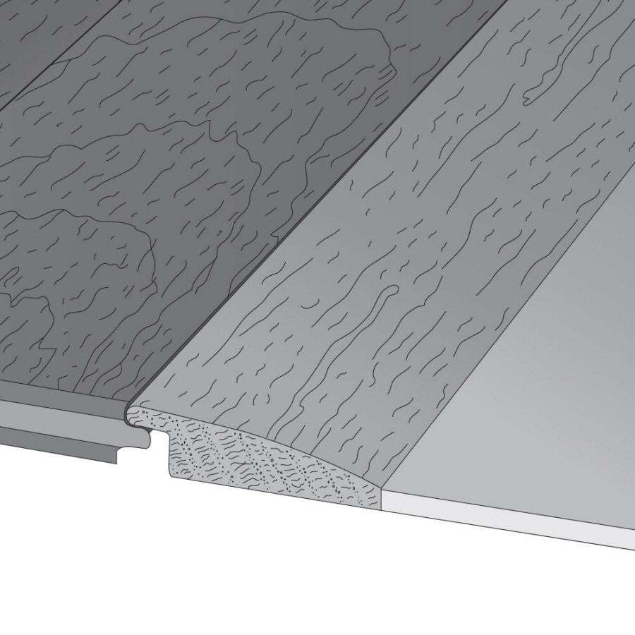 Mullican Flooring 2-in x 78-in Bordeaux Maple Reducer Floor Moulding