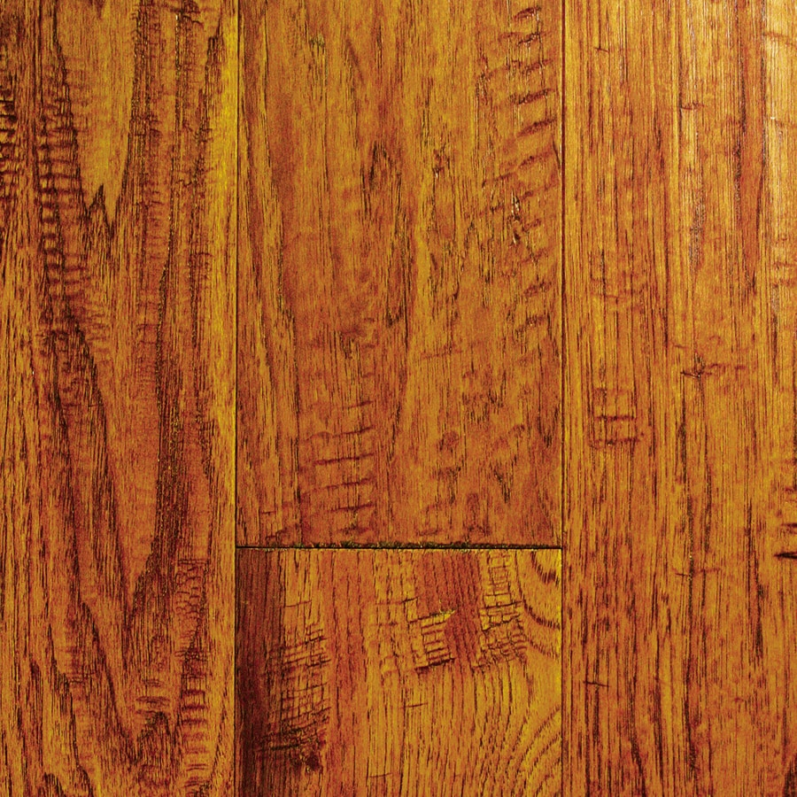 Mullican Flooring Chalmette 5-in W Prefinished Hickory Engineered Hardwood Flooring (Sundance)
