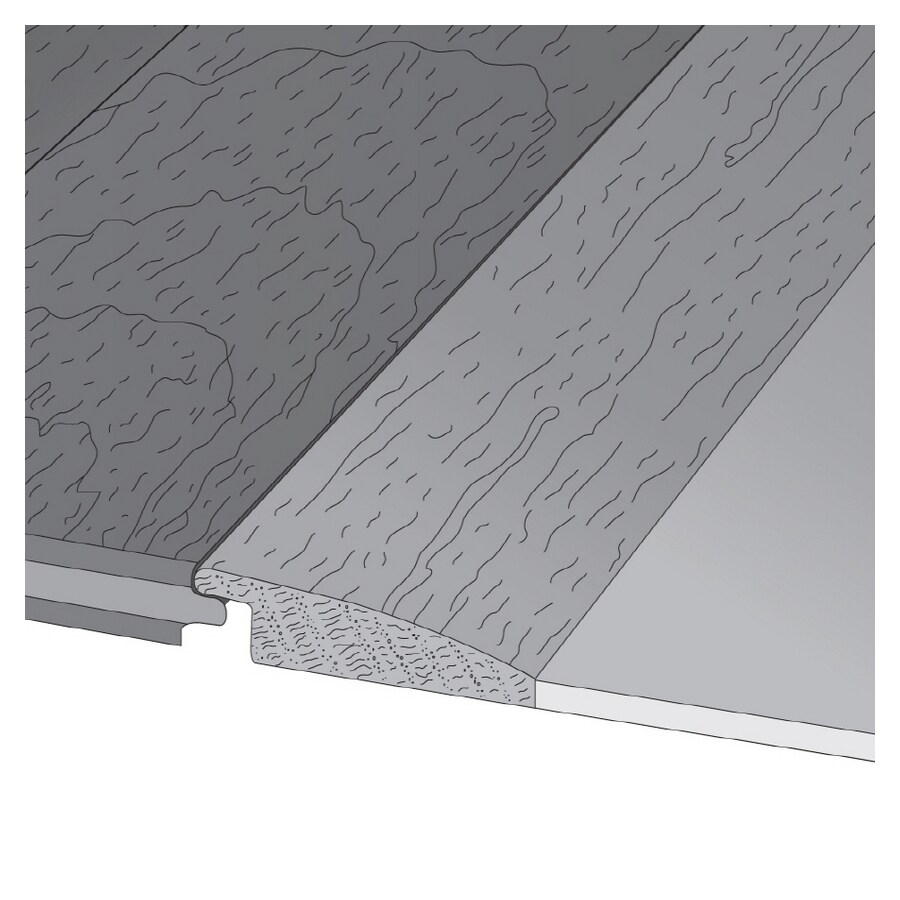 Mullican Flooring 2-in x 78-in Gunstock Reducer Floor Moulding