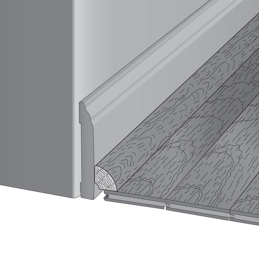 Mullican Flooring 0.75-in x 78-in Gunstock Oak Quarter Round Floor Moulding