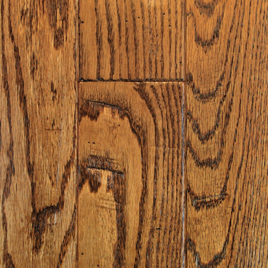 Mullican Flooring Knob Creek 4-in W Prefinished Oak Hardwood Flooring (Saddle)