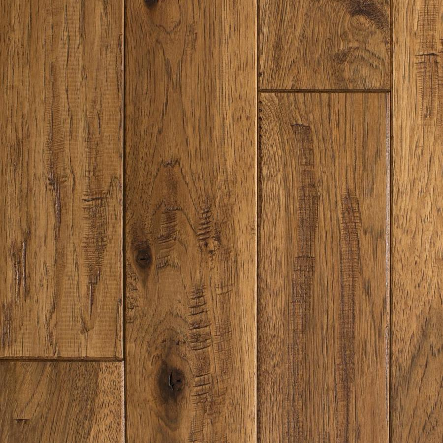 Shop mullican flooring knob creek 4 in saddle hickory for North wood flooring