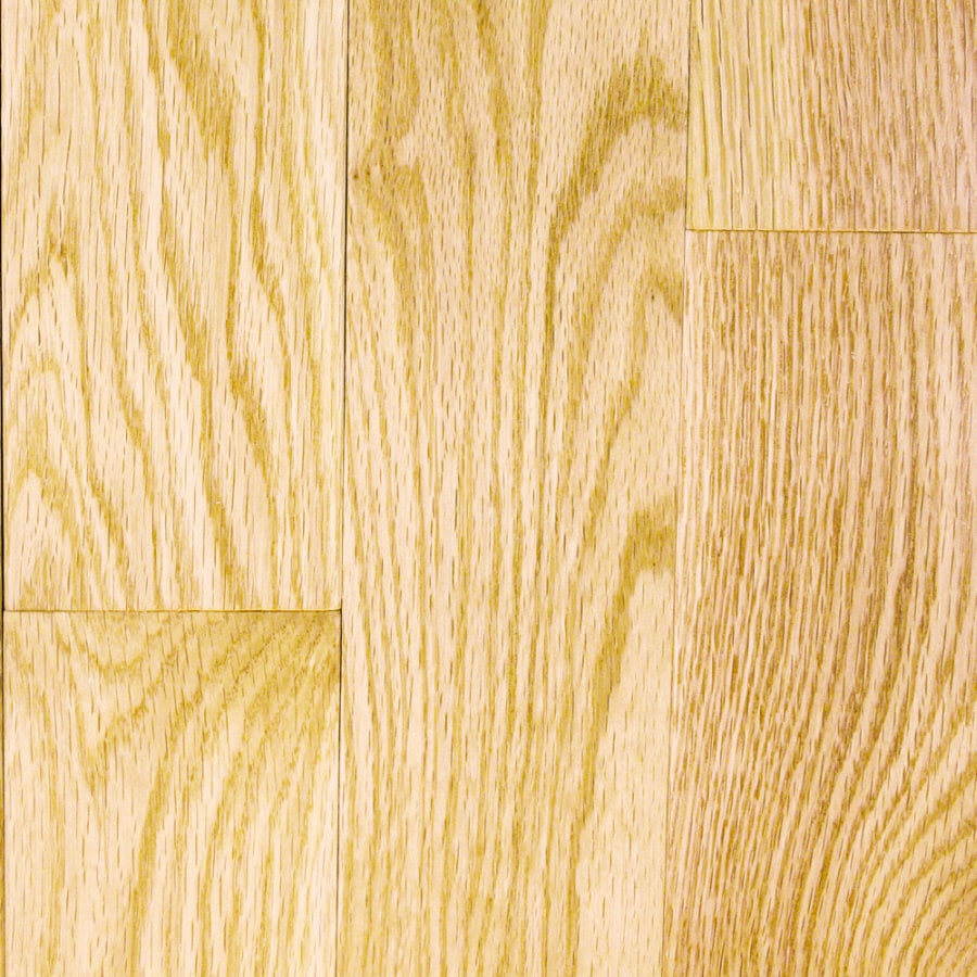 Shop mullican flooring st andrew 3 in w prefinished oak for Natural oak wood flooring