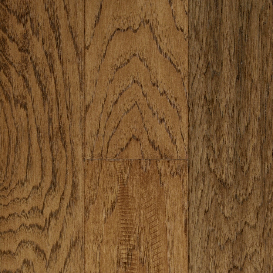 Mullican Flooring Chalmette 5-in Sunset Sand Hickory Hardwood Flooring (24.35-sq ft)