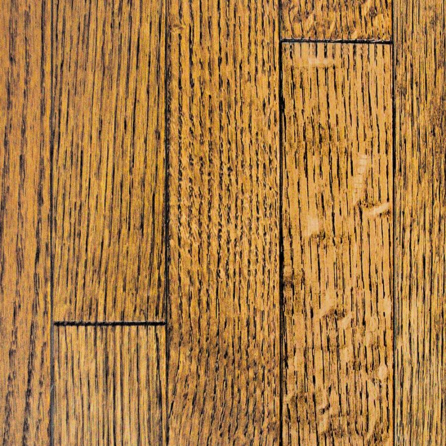 Mullican Flooring Oak Hardwood Flooring Sample (Antique Gunstock)