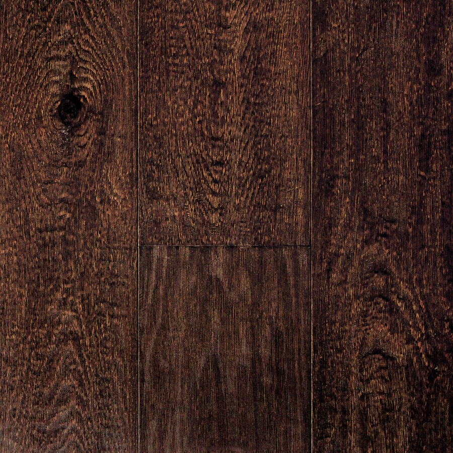 Mullican Flooring Castillian 7-in W Prefinished Oak Engineered Hardwood Flooring (Coffee Bean)