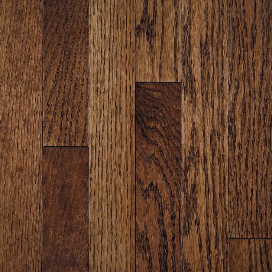 Mullican Flooring Oak Hardwood Flooring Sample (Tuscan Brown)