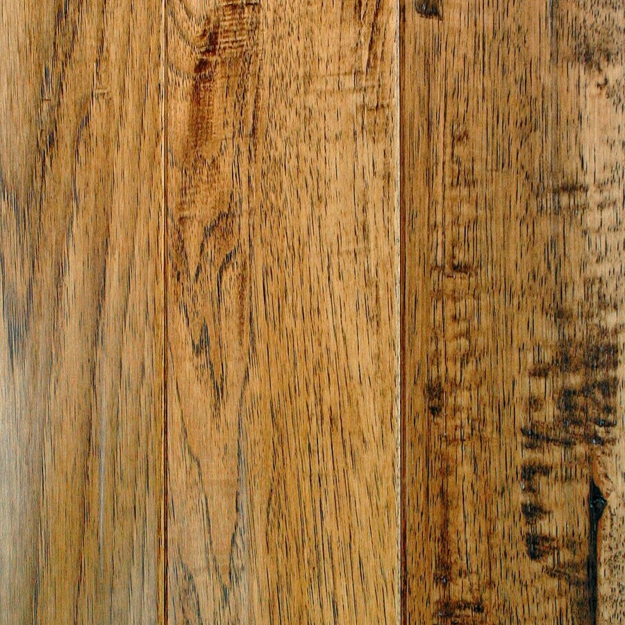 Mullican Flooring Hickory Hardwood Flooring Sample (Saddle)